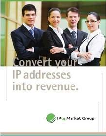 "IPv4 Market Group Announces New ""Lease to Own"" Opportunity for IPv4 Sellers"