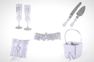 Consider Sam's Club's 10-piece wedding kit to help you cut down on the chaos.