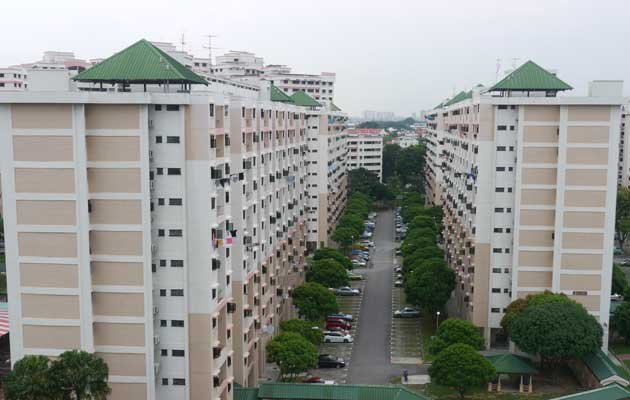 It is hard to tell whether cash-over-valuation for HDB flats will rise or fall. (Yahoo! photo)