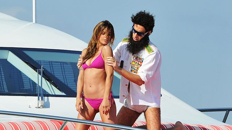 """THE DICTATOR"" Cannes Sighting - 65th Annual Cannes Film Festival"