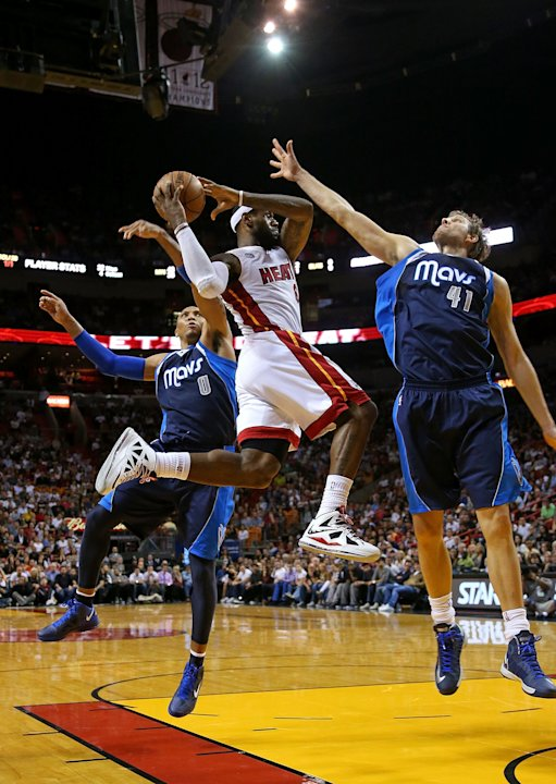 Dallas Mavericks v Miami Heat