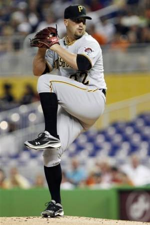 Lincoln earns win as Pirates beat Marlins 3-2