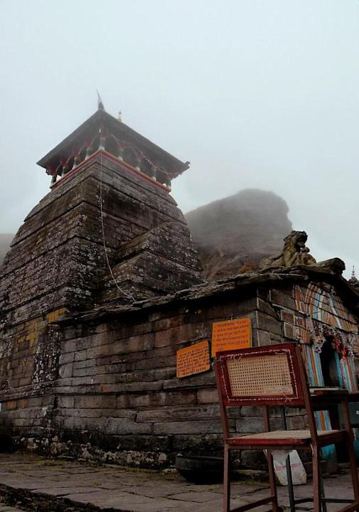 Tungnath - Priest's chair