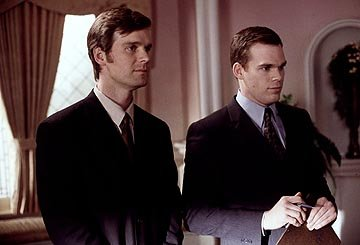 "Peter Krause and Michael C. Hall HBO's ""Six Feet Under"" Six Feet Under"