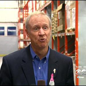 Quinn, Rauner Talk Jobs