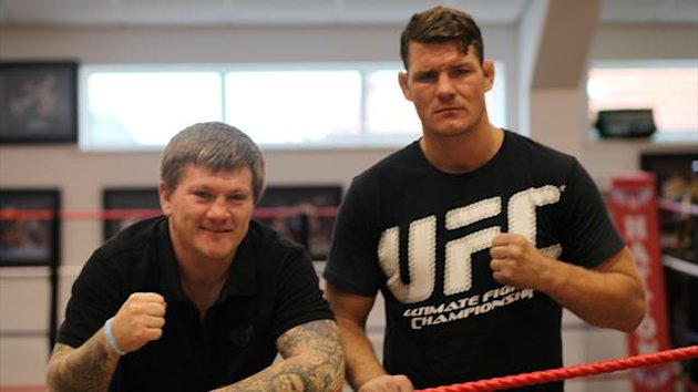 Michael Bisping and Ricky Hatton