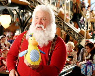Tim Allen as Santa Claus in Disney's The Santa Clause 3: The Escape Clause