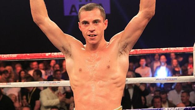 British boxer Scott Quigg (Lawrence Lustig, Matchroom)