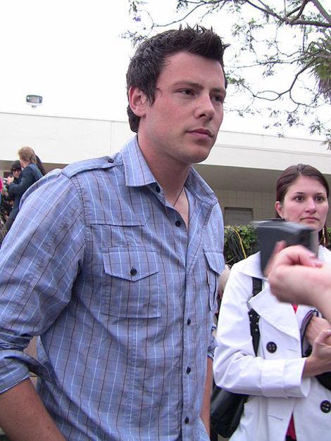 Celebrities Mourn 'Glee' Star Cory Monteith, Comfort Lea Michele