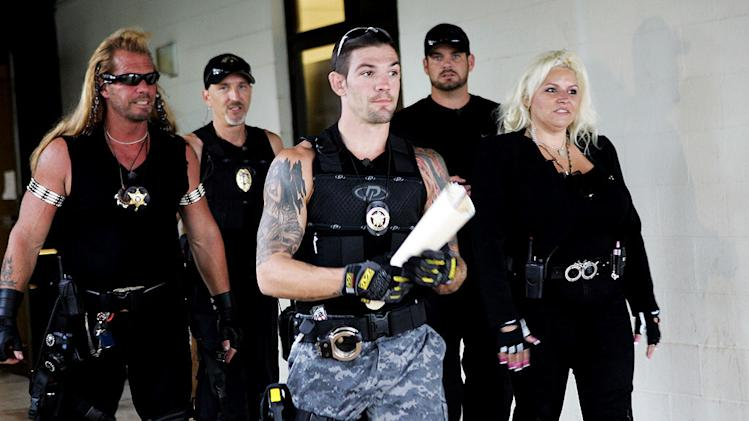 "A scene from ""Dog The Bounty Hunter."""
