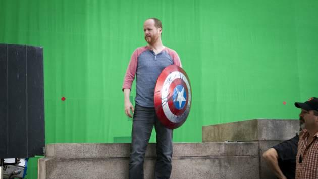 Joss Whedon stands in a shot on 'Marvel's The Avengers'  -- Marvel/Walt Disney Studios
