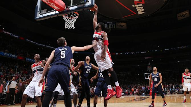 Nene, Wizards dunk Pelicans, 94-93