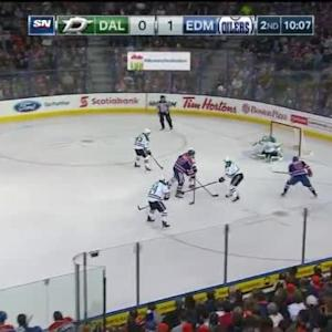 Kari Lehtonen Save on Teddy Purcell (09:55/2nd)