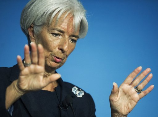 <p>International Monetary Fund chief Christine Lagarde said Monday that delays in implementing Greece's bailout program, including privatization, have expanded the country's financing shortfall.</p>