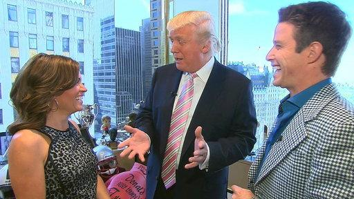 Donald Trump Dishes On 'Celebrity Apprentice'