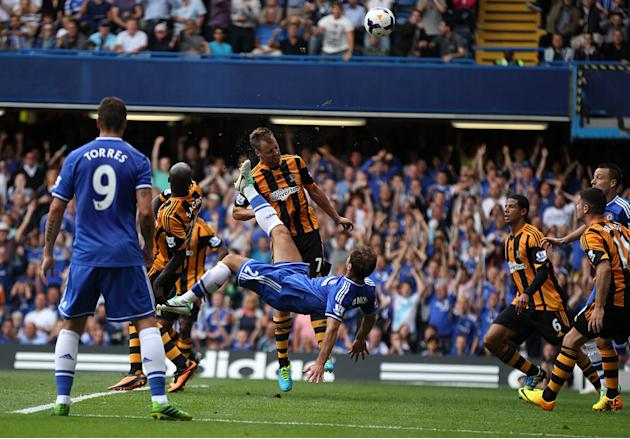 Soccer - Barclays Premier League - Chelsea v Hull City Tigers - Stamford Bridge