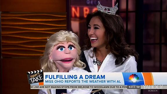 Story Behind Miss Ohio's Ventriloquist Act