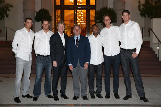 Isner was supposed to play against Great Britain in San Diego in February, but ended up a late scratch. He should be back against Slovakia. (Photo by ...