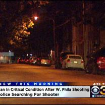 Police Investigating A Shooting That Left A Man In Critical Condition