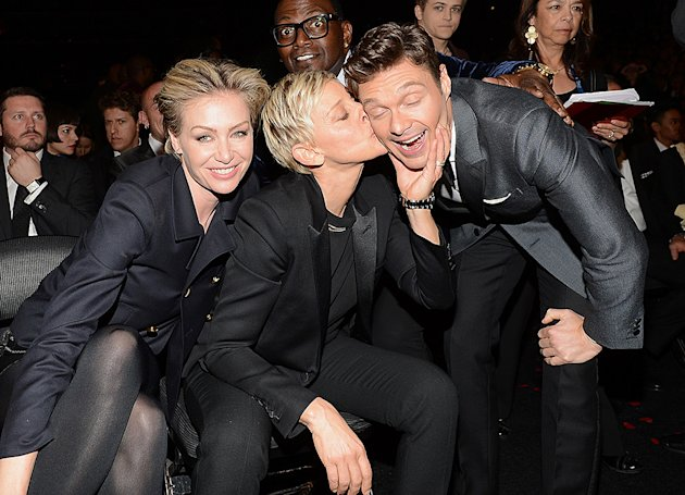 Portia de Rossi, Ellen Degeneres, Ryan Seacrest