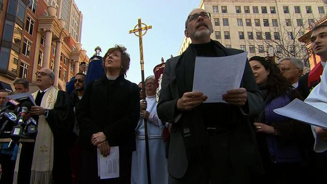 Sunday services memorialize Boston bombing victims
