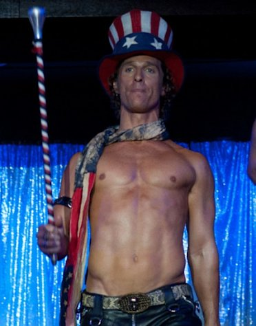 Matthew McConaughey as Dallas in &#39;Magic Mike&#39; -- Warner Bros.
