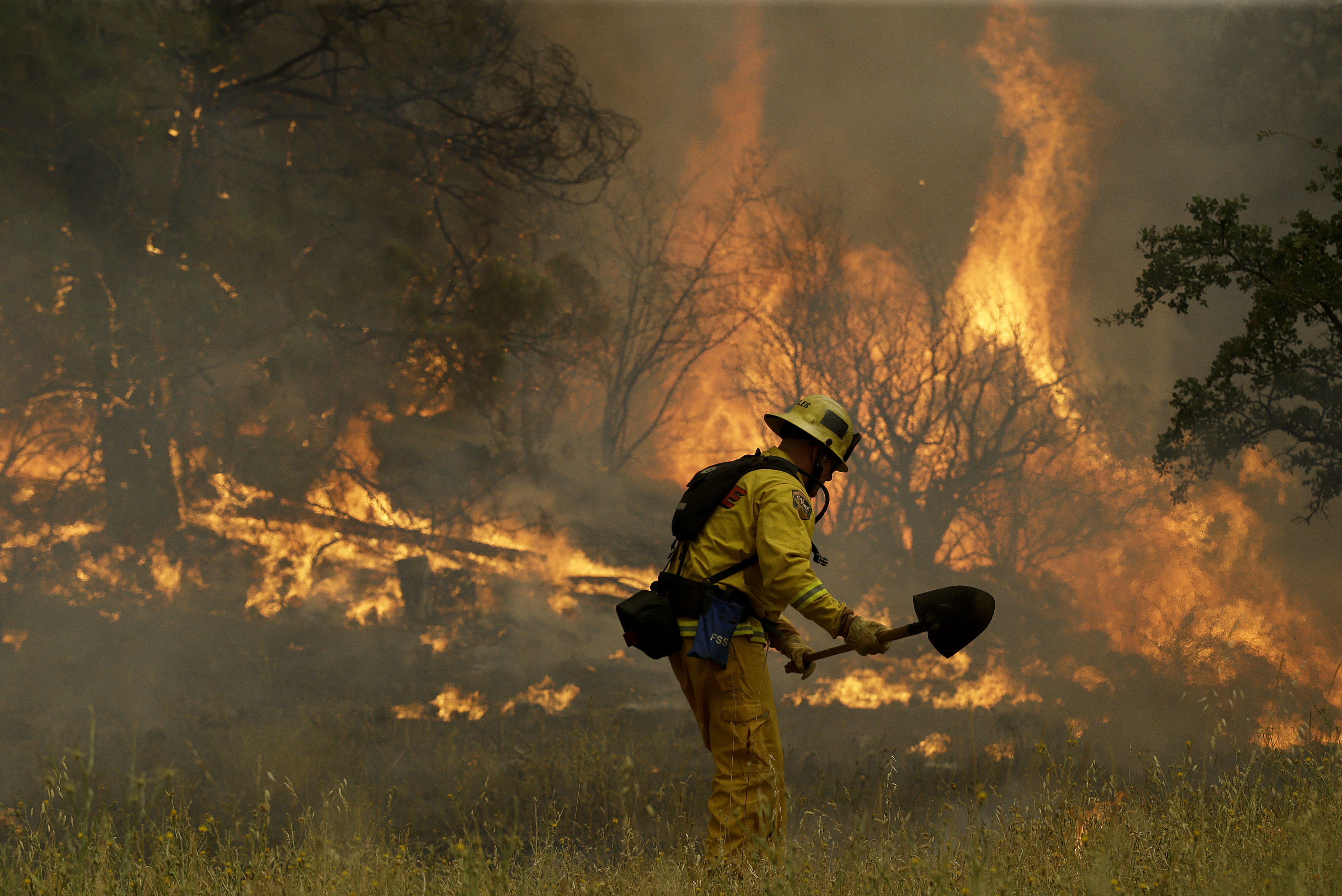 Wildfires rage across California