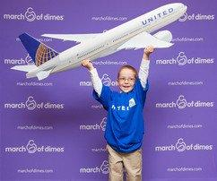 United Airlines to Help March of Dimes Promote Healthy Babies