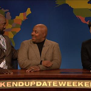 Weekend Update: Charles Barkley and Shaq