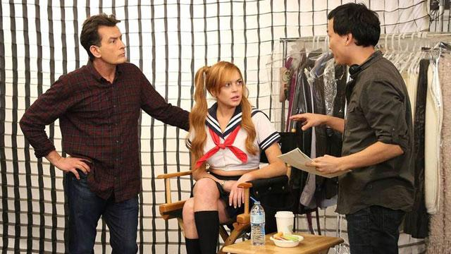 First Look: Lohan's 'Anger Management'