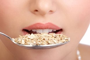 Eat wholegrains such as oats to boost your hair health