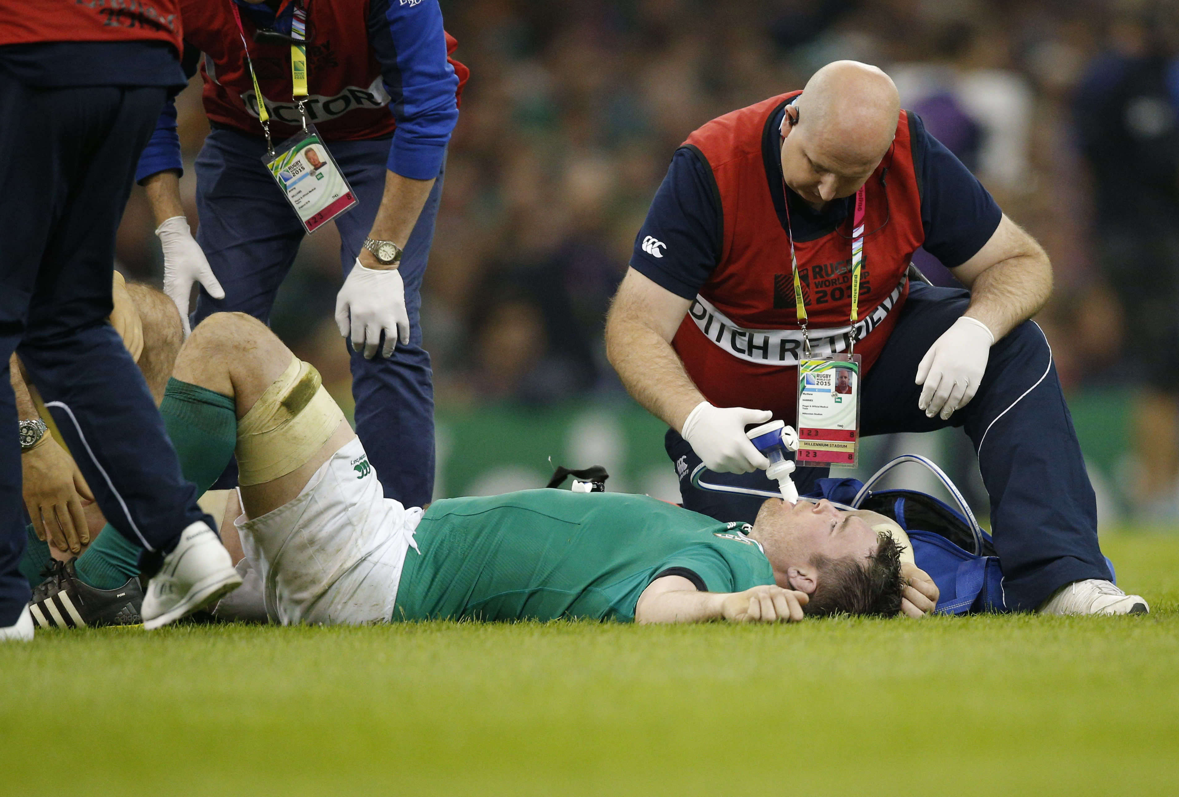 Ireland flanker O'Mahony ruled out of RWC by knee injury
