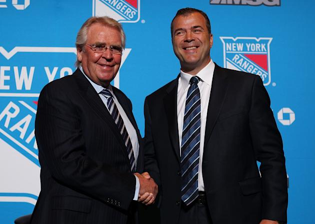 New York Rangers Introduce Alain Vigneault
