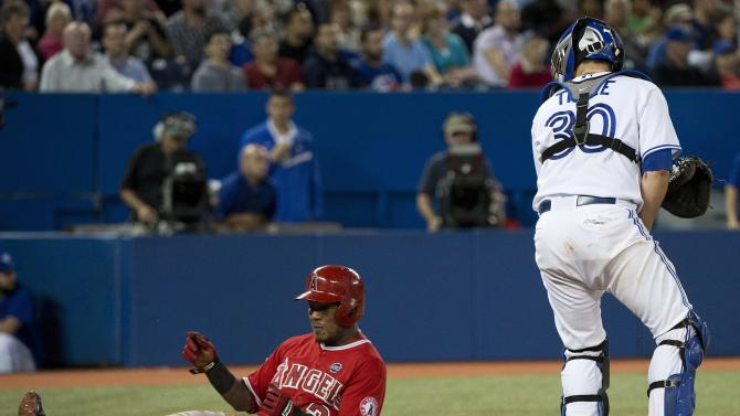 Richards leads Angels past Blue Jays
