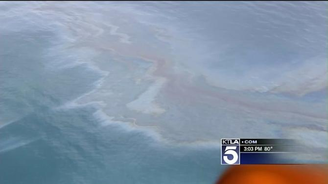 Oil Sheen Off Goleta Investigated as `Possible Oil Spill`