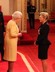 Kate Winslet has been awarded a CBE