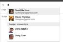 Google further integrates Gmail with Google +