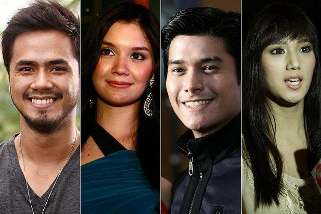 "TV5 brings back the hit 90's series, ""Valiente"" with new cast members,  Oyo Sotto,Nadine Samonte,JC de Vera and Nina Jose (NPPA Images)"