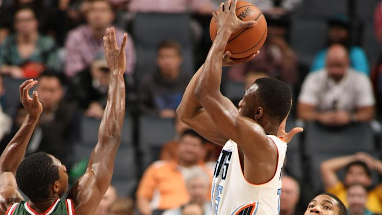 Bobcats escape with 111-110 win over Bucks in OT