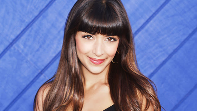 "Hannah Simone as Cece in ""New Girl."""