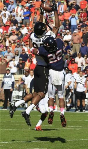 Wake Forest 16, Virginia 10