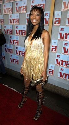 Brandy MTV Video Music Awards New York City - 8/29/2002