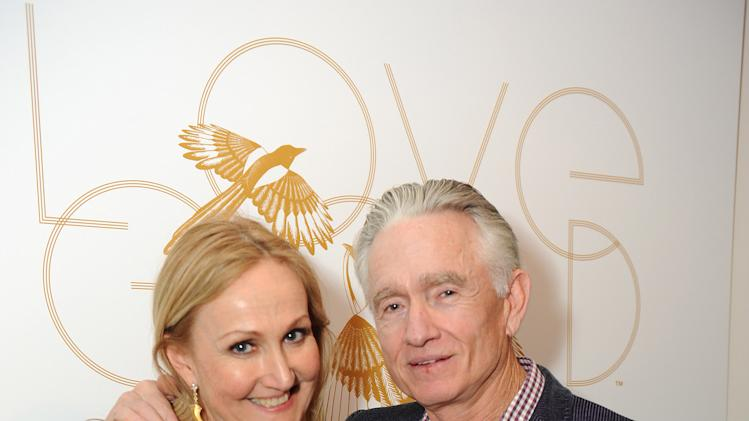 "Sally Morrison and Ian Telfer attend LoveGold/EJAF Celebrate ""How to Survive a Plague"" at Chateau Marmont on February 22, 2013 in Los Angeles. (Photo by Jordan Strauss/Invision for LoveGold/AP Images)"