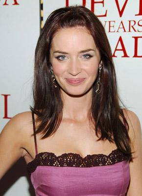 Emily Blunt at the NY premiere of 20th Century Fox's The Devil Wears Prada
