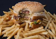 A McDonald's Big Mac. US fast food giant McDonald's, famed for its beef-based Big Mac burgers, on Tuesday said it will open its first ever vegetarian-only restaurant in the world in India next year.