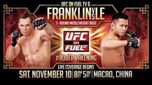 UFC on Fuel TV 6: Franklin vs. Le Medical Suspensions; Both Main Eventers Face 6 Months