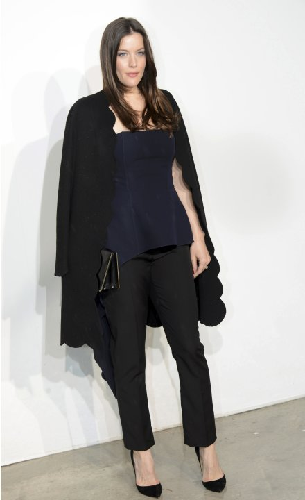 Actress Liv Tyler arrives at a fashion show by Belgian designer Raf Simons for French fashion house Dior in Monaco
