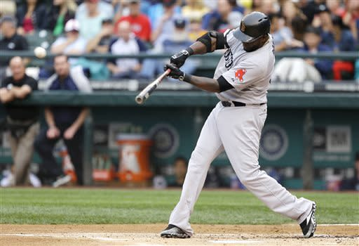 Ortiz sets mark for hits by DH, Boston wins 11-4