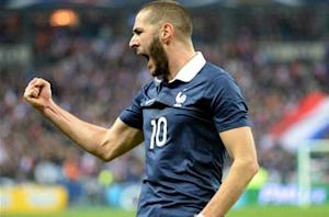 Deschamps: Benzema 'beaming' with delight