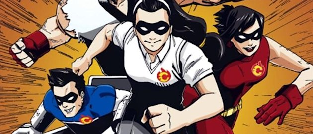 The voters' education material of the Parish Pastoral Council for Responsible Voting for the May 2013 polls will now include superheroes. (Photo from the website of Communication Foundation Asia)